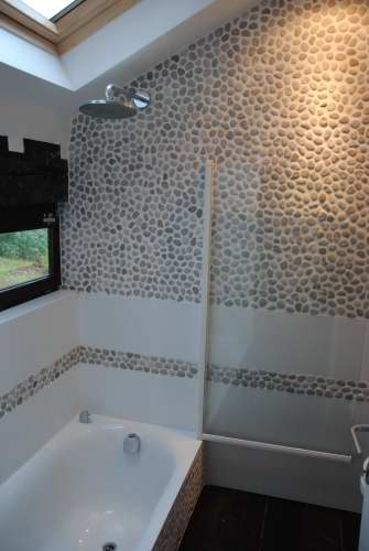 Salle de bain r novation devis carrelage king for Exemple salle de bain carrelage